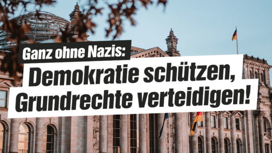 Grundrechte verteidigen!